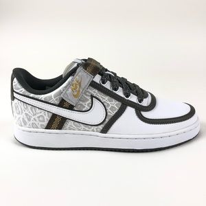 Nike Vandal Low Silver Gold Retro Shoes 312492-013